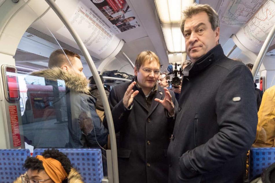 Staatsregierung hat Plan: Der öffentliche Personennahverkehr soll in Bayern verbessert werden.