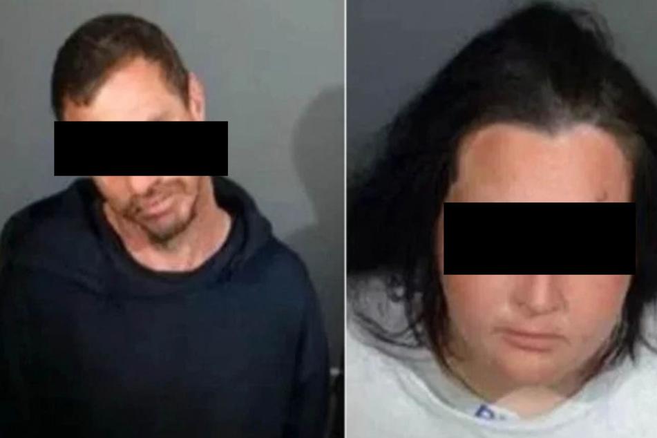 Angeklagt u. a. wegen Vernachlässigung von Kindern: Vincente C. (38) und Sarah N. (32).