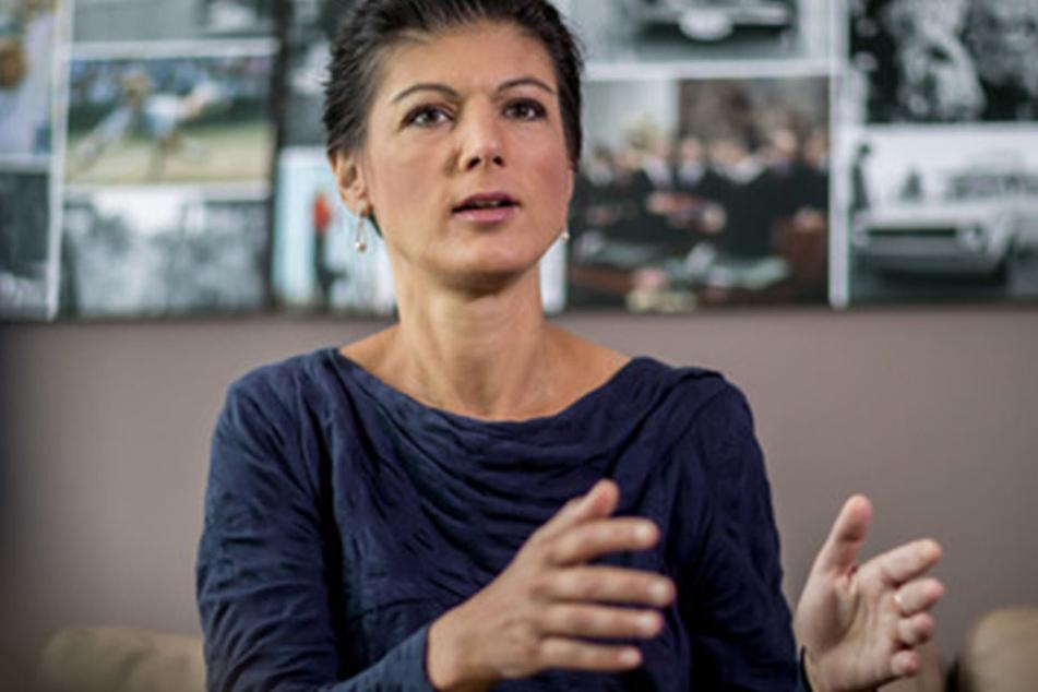 Sahra Wagnknecht (49), Fraktionsvorsitzende der Linken, will mit den Leipzigern ins Gespräch kommen.