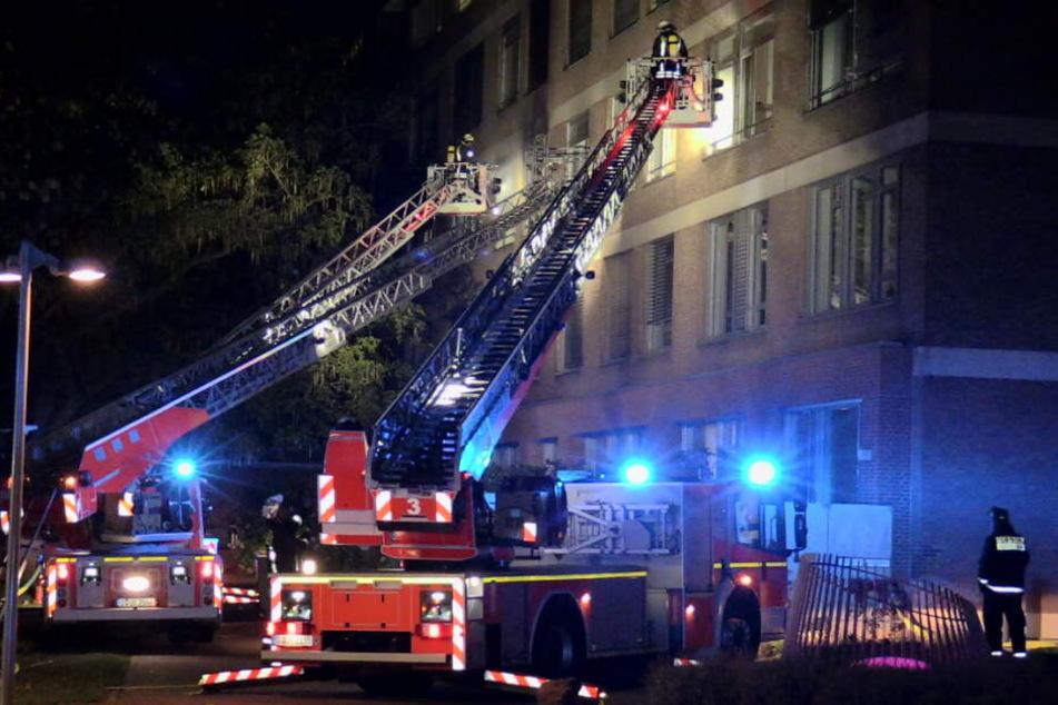 Feuer-Drama in Düsseldorfer Klinik: ein Toter und 19 Verletzte!