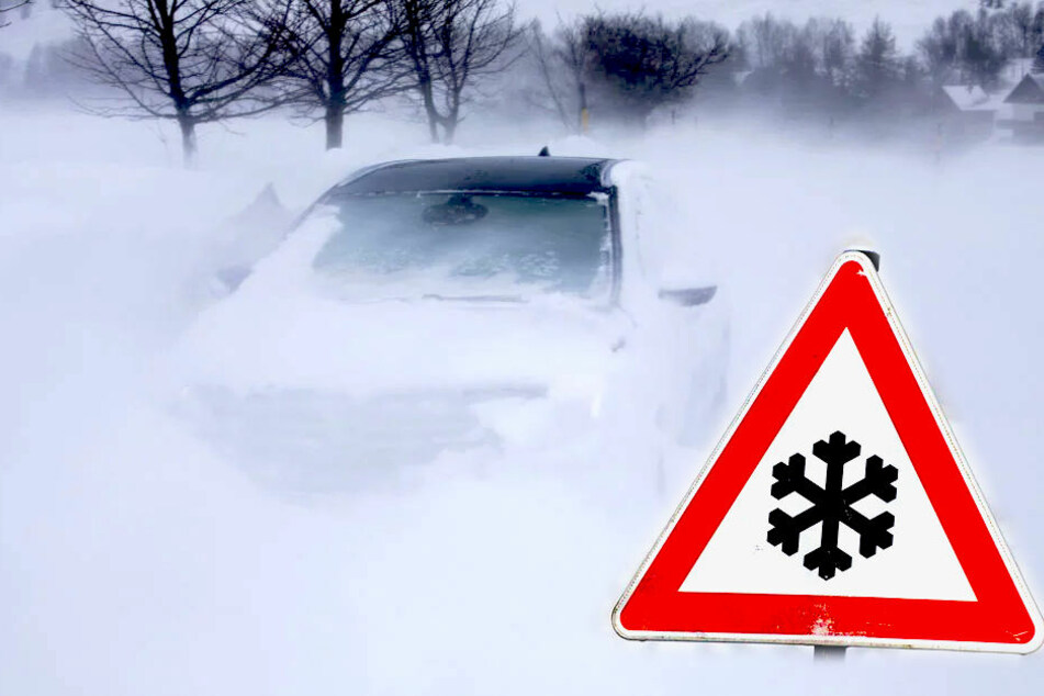 Warnung vor mega Schneefall in Sachsen!
