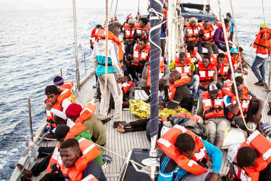 Boot gekentert: Sieben Migranten sterben auf See