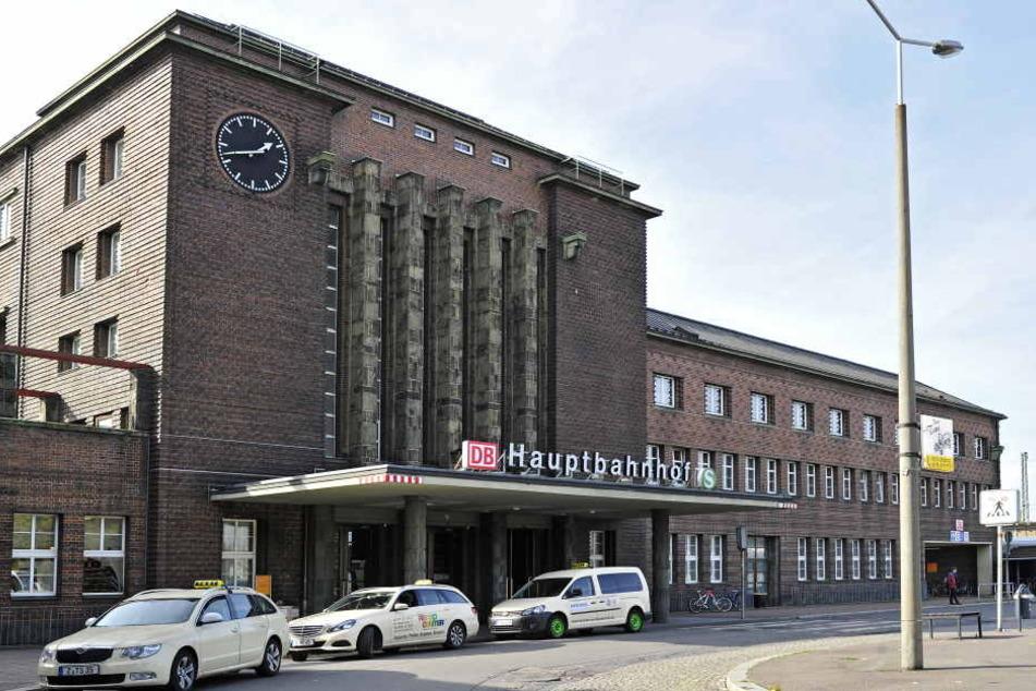 Der Vorfall ereignete sich in der Nacht zu Montag am Hauptbahnhof in Zwickau.