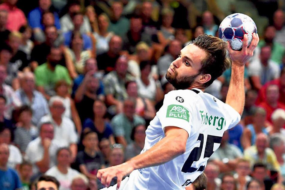 Er wurde lange schmerzlich vermisst: Jetzt kann Sebastian Greß wieder spielen und Tore werfen.