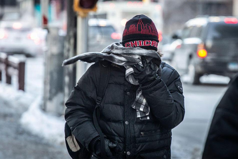 Millionen Menschen im Mittleren Westen der USA müssen sich auf eine extreme Kältewelle mit Temperaturen von minus 34 Grad Celsius und darunter einstellen.