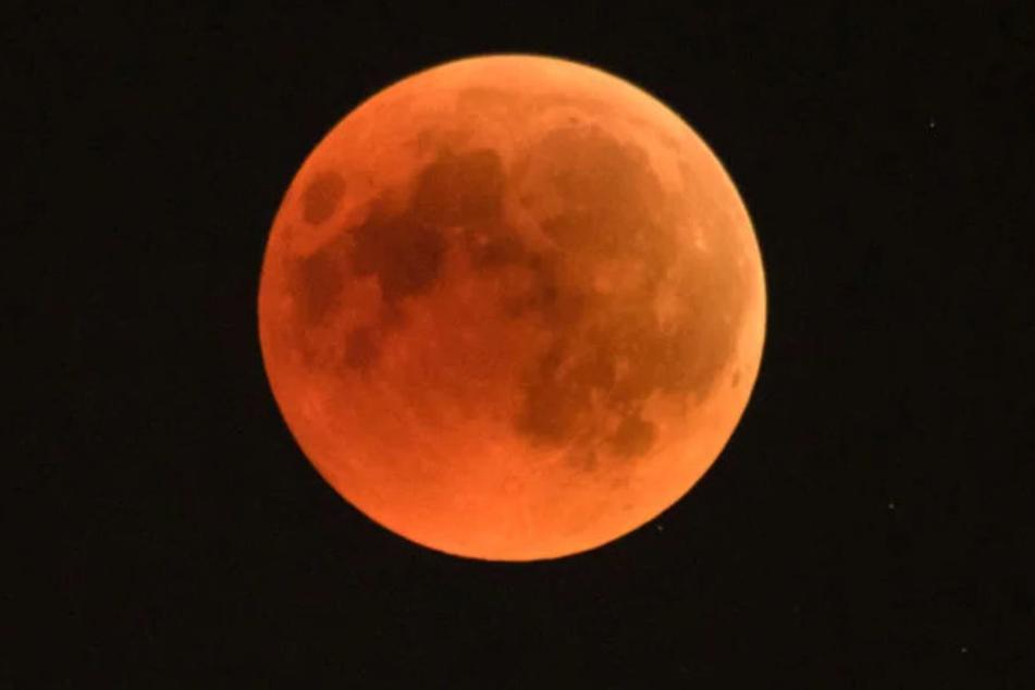 Am 21. Januar gibt's wieder eine Mondfinsternis.