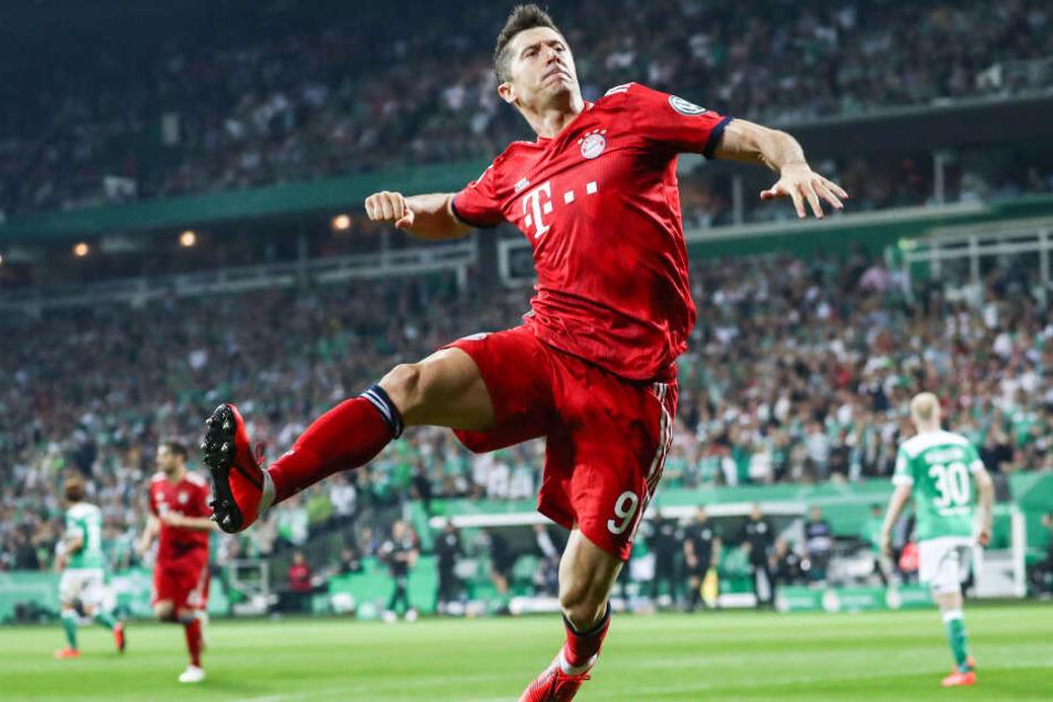 Stürmer Robert Lewandowski könnte beim FC Bayern München verlängern.