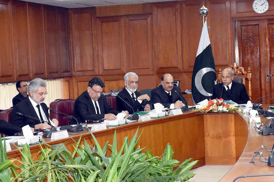 Supreme Court of Pakistan in Islamabad in February 2020 (stock image).