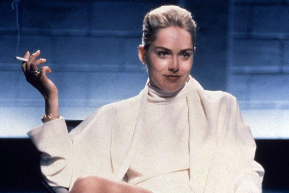 """""""Basic Instinct"""" machte Sharon Stone 1992 weltberühmt - und zur """"Femme Fatale""""."""