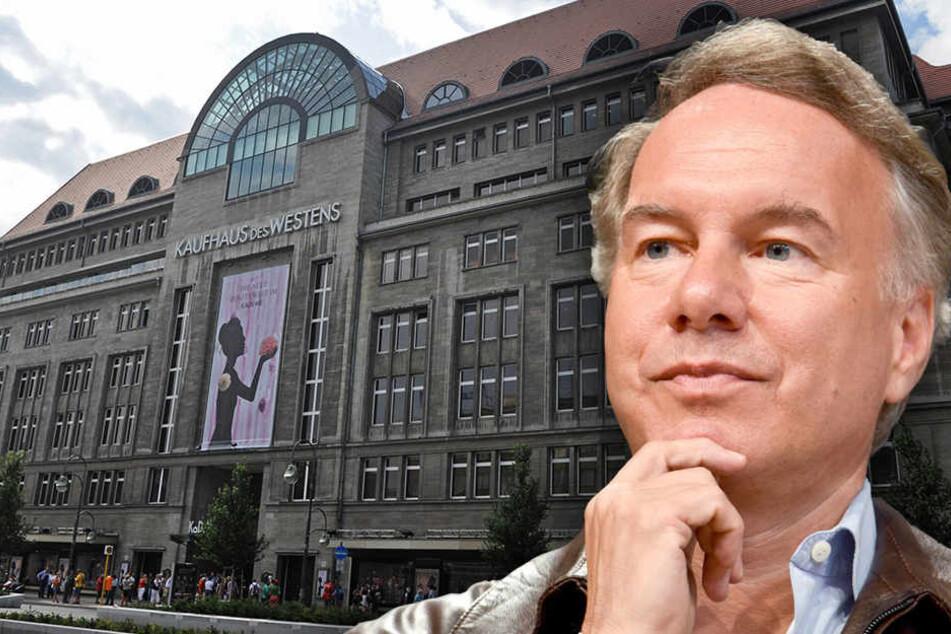 Filmemacher Nico Hofmann wird demnächst die Geschichte des Kaufhauses verfilmen.