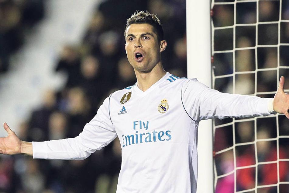 Real-Superstar Cristiano Ronaldo ist das große Vorbild vom Dynamo-Neuzugang Moussa Koné.