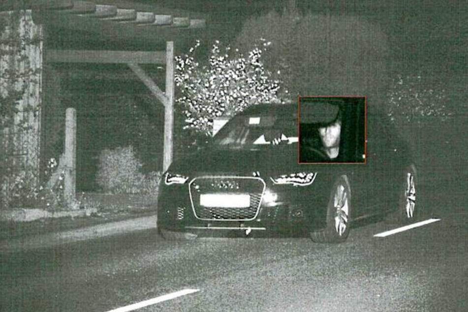 Am 4. Mai wurde der geklaute Audi von einer Radarfalle erfasst.