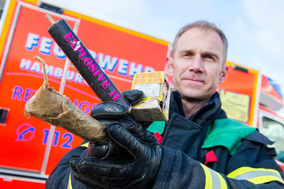Die Feuerwehr warnt vor illegalen Böllern.