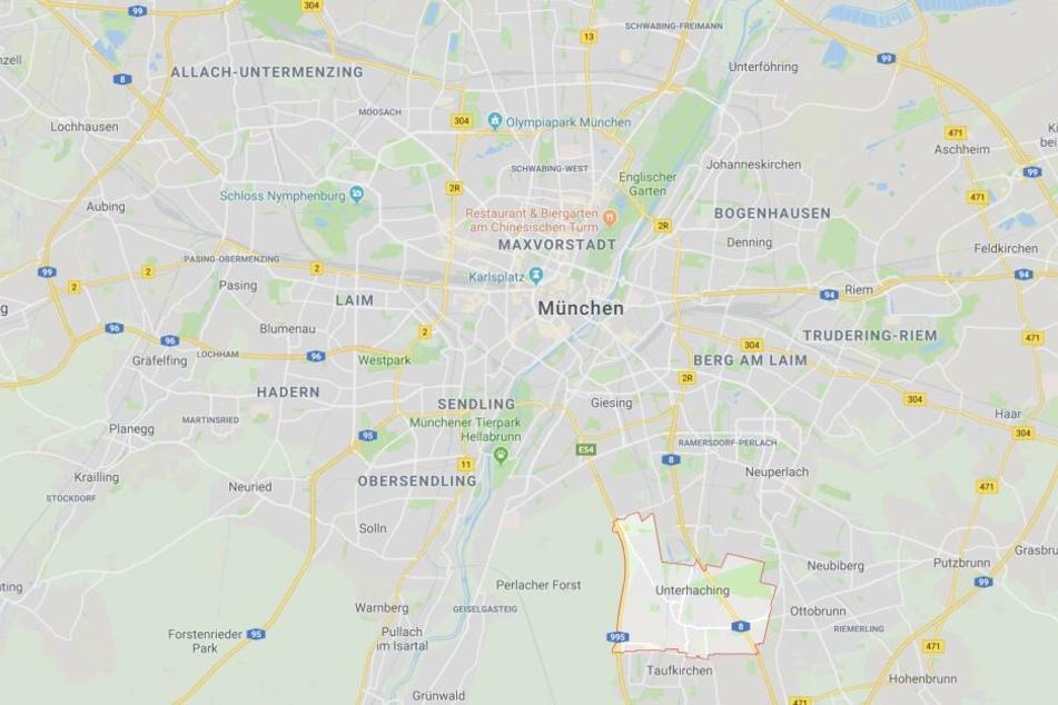 In Unterhaching bei München ist es in Bayern zu einem erschreckenden Zwischenfall gekommen.