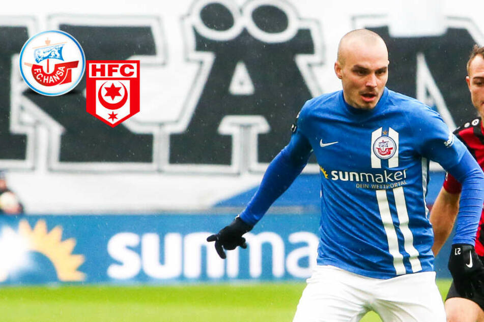 Trotz Chancenwucher: Hansa Rostock bezwingt HFC im Ost-Kracher dank Vollmann!