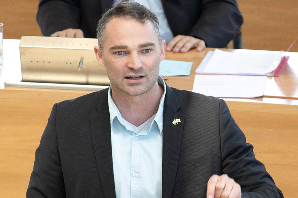 Wird er der erste deutsche AfD-OB? Sebastian Wippel (37) tritt für die Islamfeinde an.