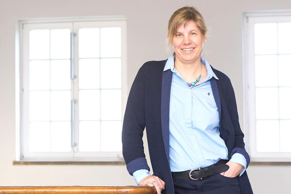 Untersuchte, wie Profi-Fußballer mit psychischem Druck umgehen: die Leipziger Sportpsychologie-Professorin Anne-Marie Elbe (45).