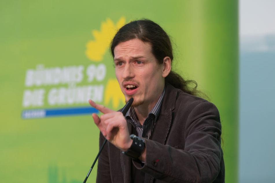 Bleibt Jürgen Kasek Grünen-Landeschef oder wird er vom Stadtratsabgeordneten Norman Volger abgelöst?