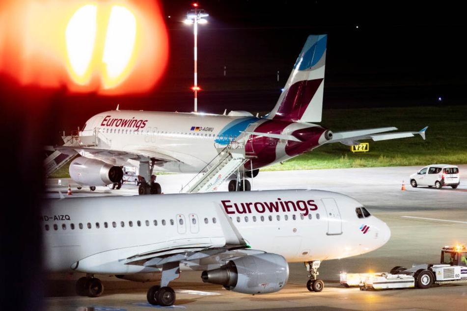 Blieb am Boden: Wendlers Maschine der Fluggesellschaft Eurowings, die nach Florida fliegen sollte (Symbolbild).