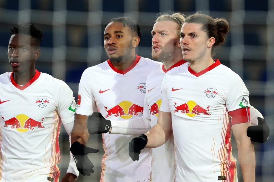 Aktuell ist das eingespielte Team von RB Leipzig gut drauf. In Liga und Pokal sind die Roten Bullen noch voll im Soll.