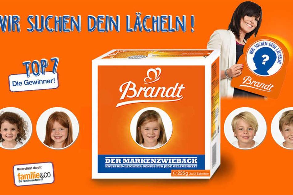 """Carla (M.) ist eine von sieben Gewinnerinnen des Contests """"Wir suchen Dein Lächeln!"""" von Brandt."""