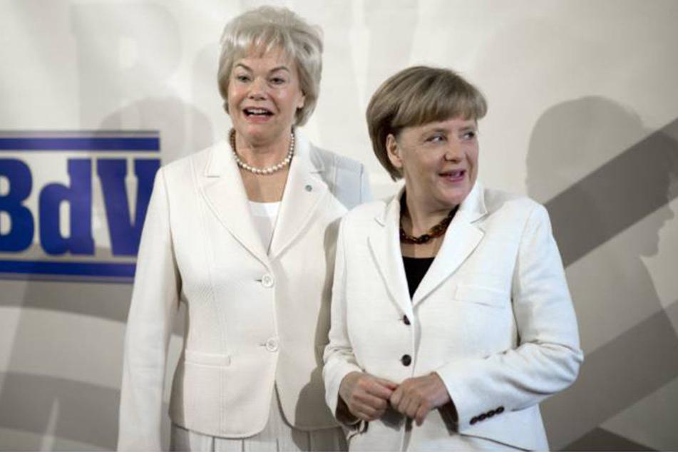Das gemeinsame Lachen (hier von 2014) ist Erika Steinbach und Angela Merkel wohl mittlerweile vergangen.