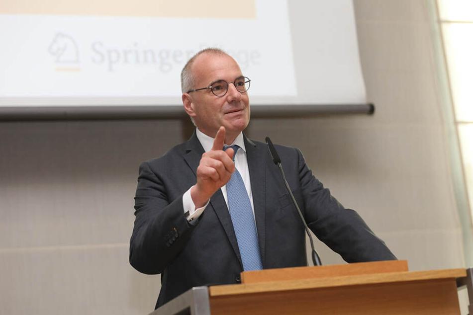 Erik Bodendieck (52), Präsident der Landesärztekammer, kritisiert das Polizeigesetz.