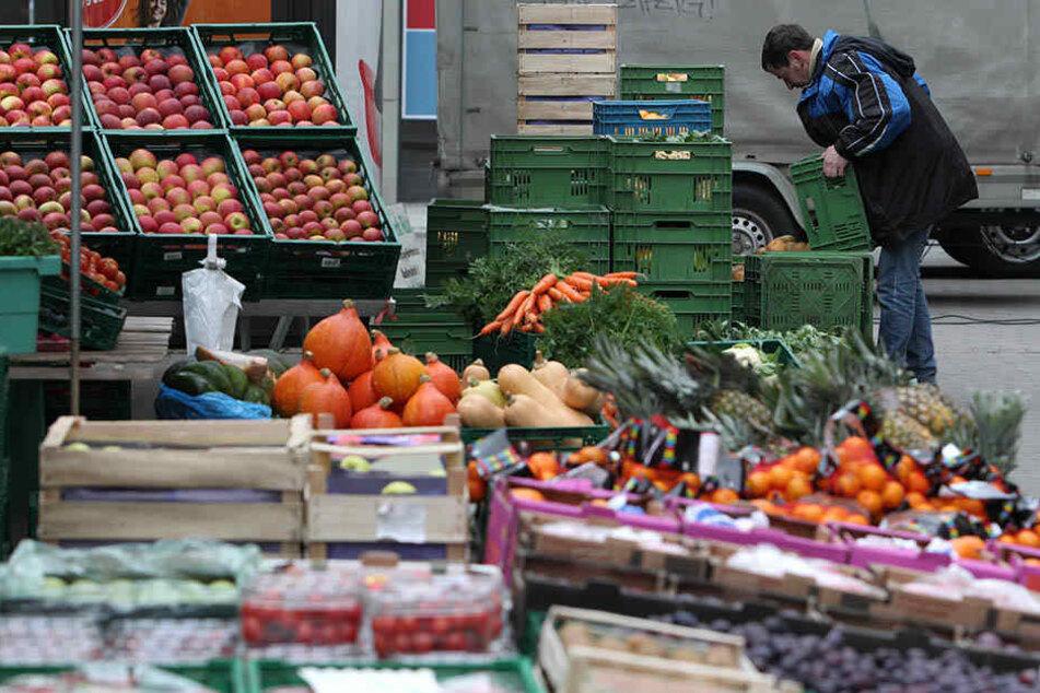 Der Wochenmarkt muss bis Ende des Jahres dem Weihnachtsmarkt weichen.