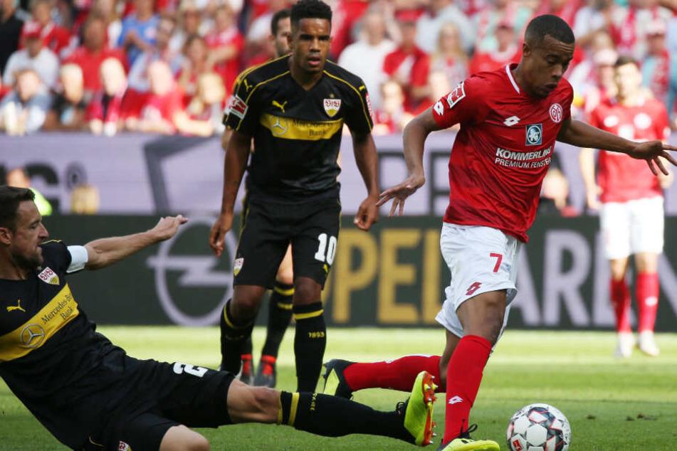 Das Hinspiel verloren die Stuttgarter in Mainz mit 0:1.