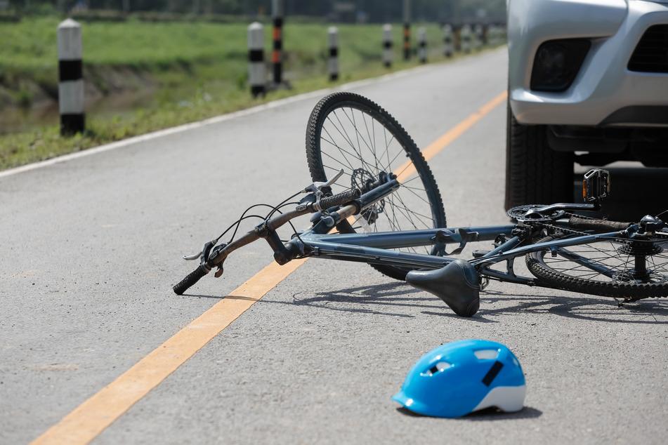 Unfälle am Montag: Drei Fahrradfahrer in und um Leipzig schwer verletzt