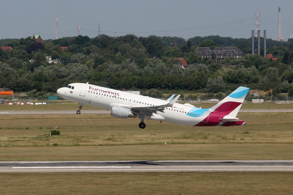 Eurowings startet ab Sonntag bis zu sechsmal wöchentlich nach Düsseldorf. (Archivbild)