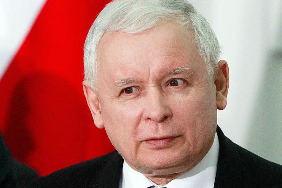 Jaroslaw Kaczynski, Vorsitzender der regierenden PiS-Partei, erwartet von Israel eine Entschuldigung.