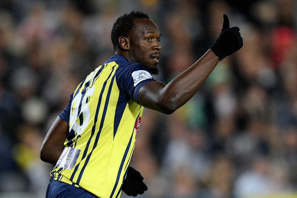 Eine Ikone des Sports: Sprint-Weltrekordler Usain Bolt (32).
