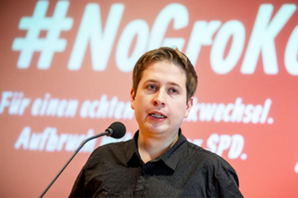 Mit einer Podiumsdiskussion startet die Kampagne von Juso-Chef Kevin Kühnert am Freitag in Leipzig.