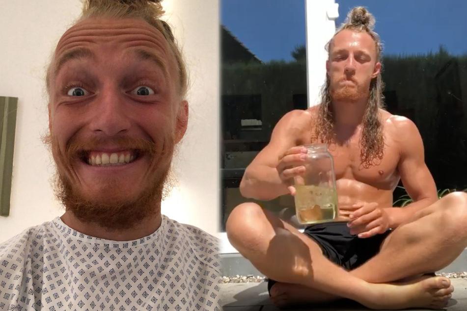 Dieser Mann trinkt bis zu vier Liter Urin pro Tag, aber nicht nur durch den Mund