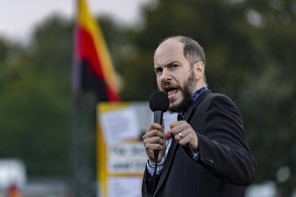 Martin Kohlmann (41) von Pro Chemnitz will das Stadtfest um jeden Preis erhalten.