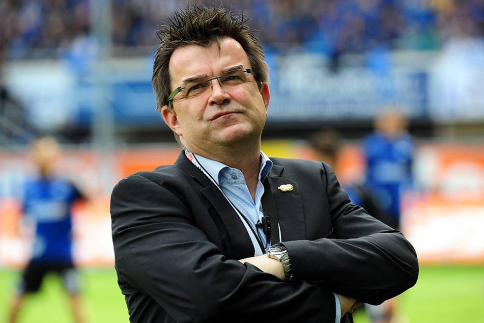 Vereinschef Martin Hornberger will die Finke-Kritik lieber intern besprechen.