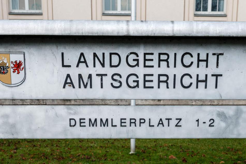 Der Angeklagte musste sich vor dem Landgericht Schwerin verantworten.