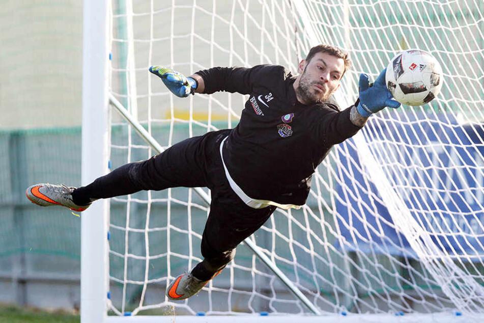 Gegen Wolfsburg wird Daniel Haas im Tor stehen.