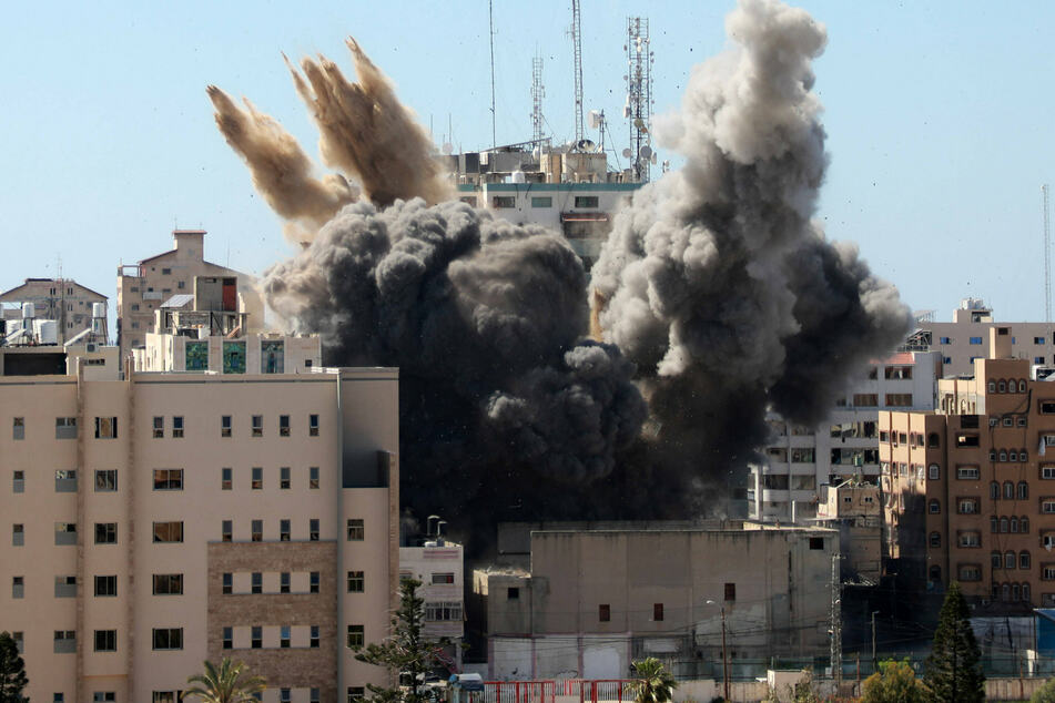 "Press association slams Israel for ""war crime"" after bombing of Gaza media building"