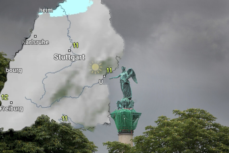 Die Sturmböen können bis zu 80 Stundenkilometer erreichen. (Symbolbild)