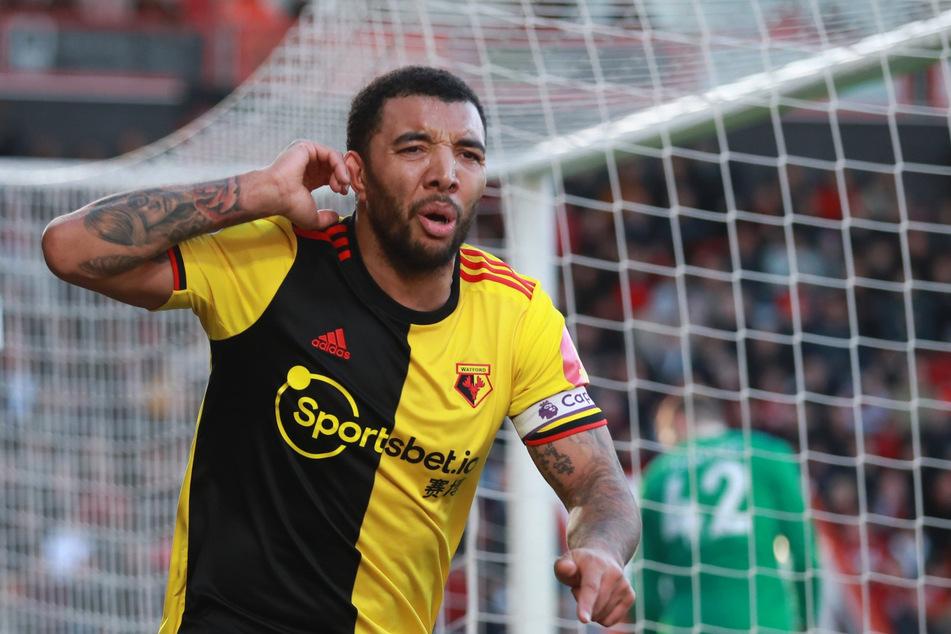 """Für die """"Hornissen"""" aus Watford wurde der Stürmerstar als Kapitän zum Publikumsliebling. In Interviews nimmt er kein Blatt vor den Mund."""