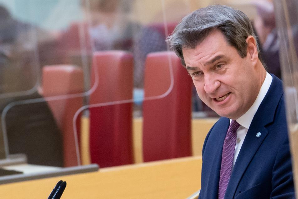 Markus Söder Gastredner beim Neujahrsempfang der NRW-CDU