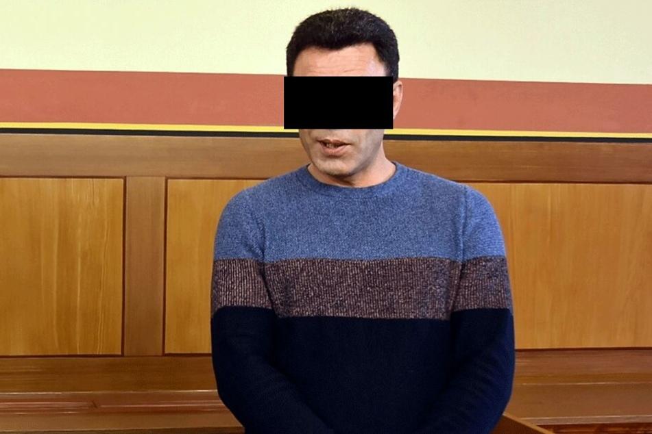 Ömer O. (45) gestand die Taten aus der Anklage.