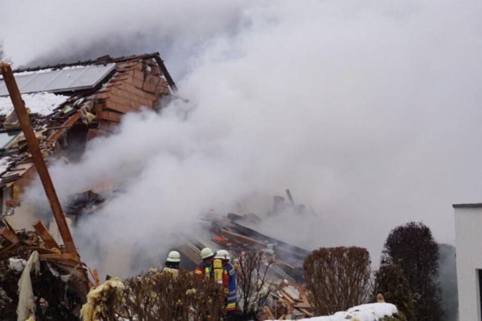 Haus explodiert! Warum flog das Gebäude in die Luft?