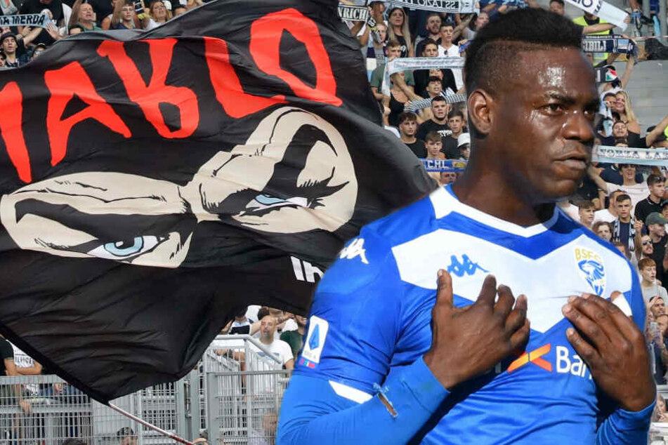 Mario Balotelli von Lazio-Fans rassistisch beschimpft: Milde Strafe für Verein!