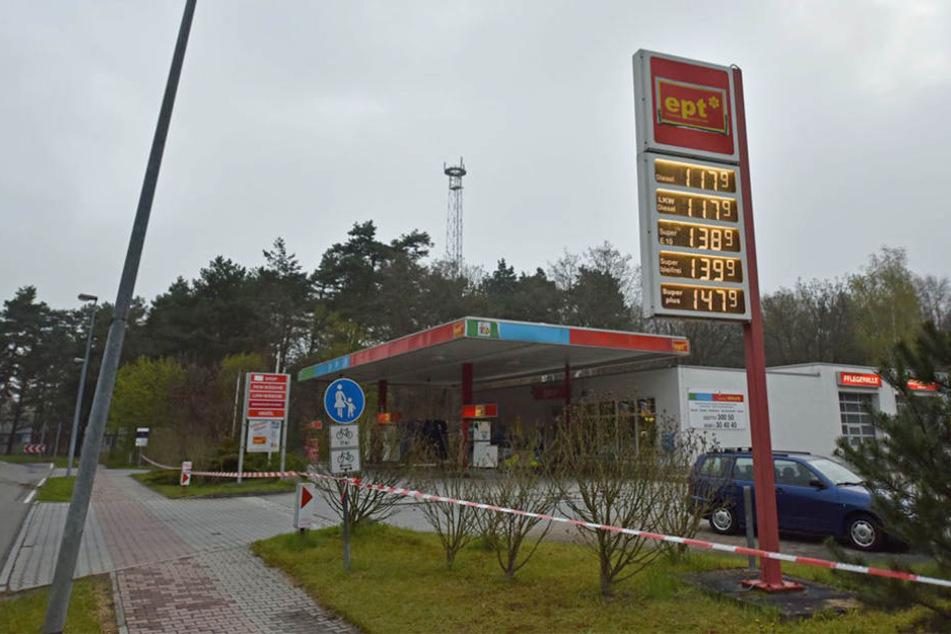An dieser Tankstelle in Boxberg ereignete sich am Dienstagmorgen einen Überfall.
