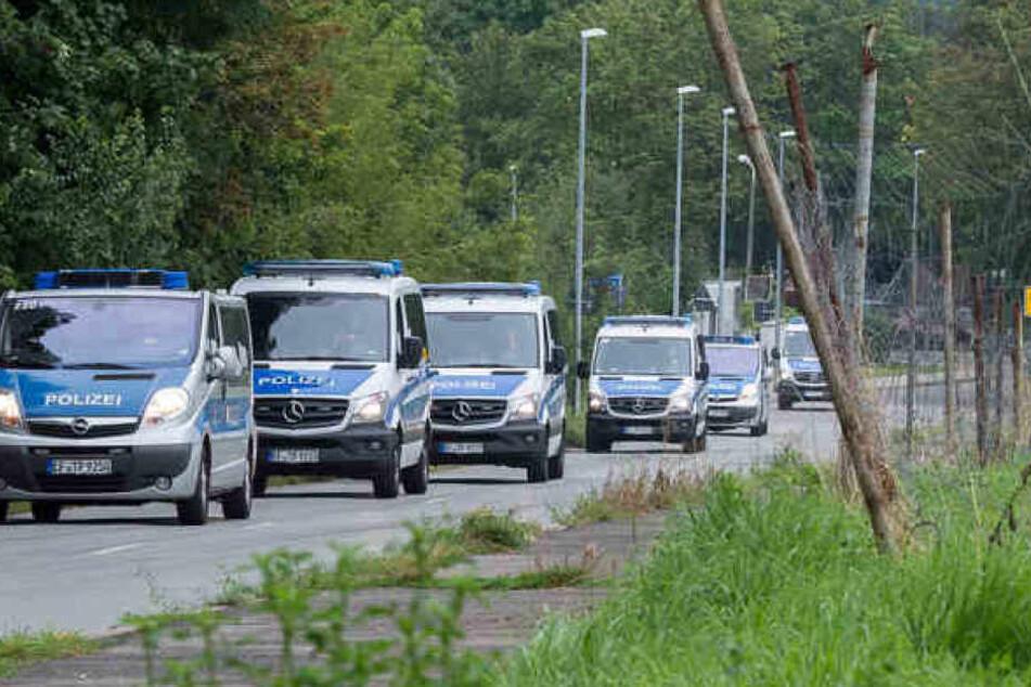 Mit einem Großaufgebot suchte die Polizei im August nach Spuren ohne großen Erfolg.