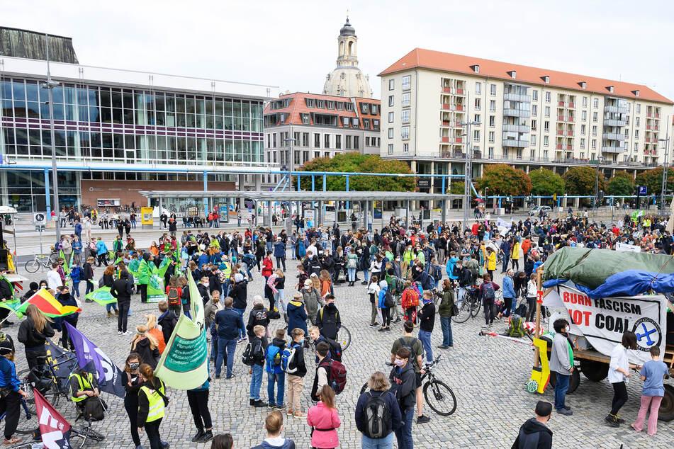 Fridays For Future demonstriert heute an mehr als 100 Kreuzungen in Dresden
