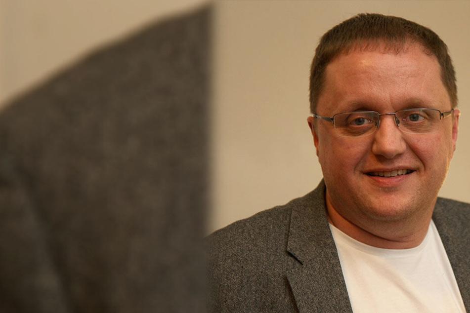 Tritt das Amt nicht an: Maik Günther (38, Linke).